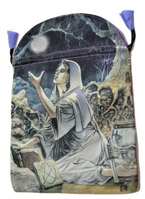 6″ x 9″ Drawing Down the Moon Tarot Bag by Lo Scarabeo