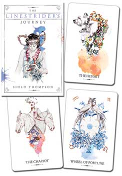 Linestrider tarot deck & book by Siolo Thompson
