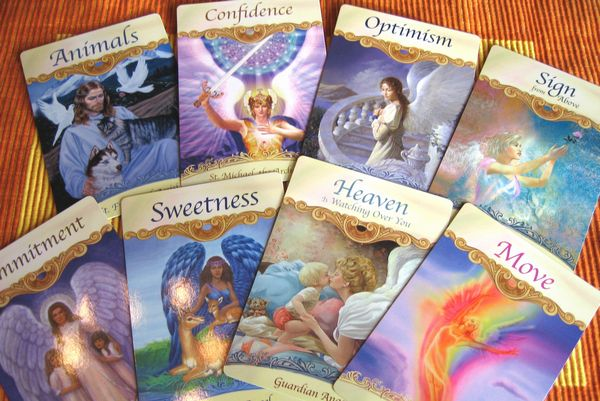 angel card reading free
