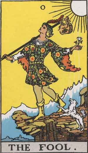 What does the fool tarot card mean