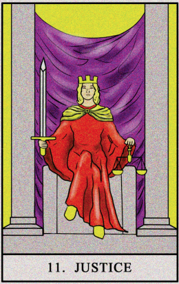What does the Justice Tarot Card Mean?