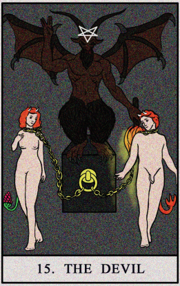 What does the Devil Tarot Card Mean?