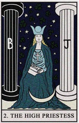 What does the high priestess tarot card mean?