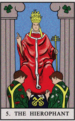 What does the Hierophant tarot card mean?