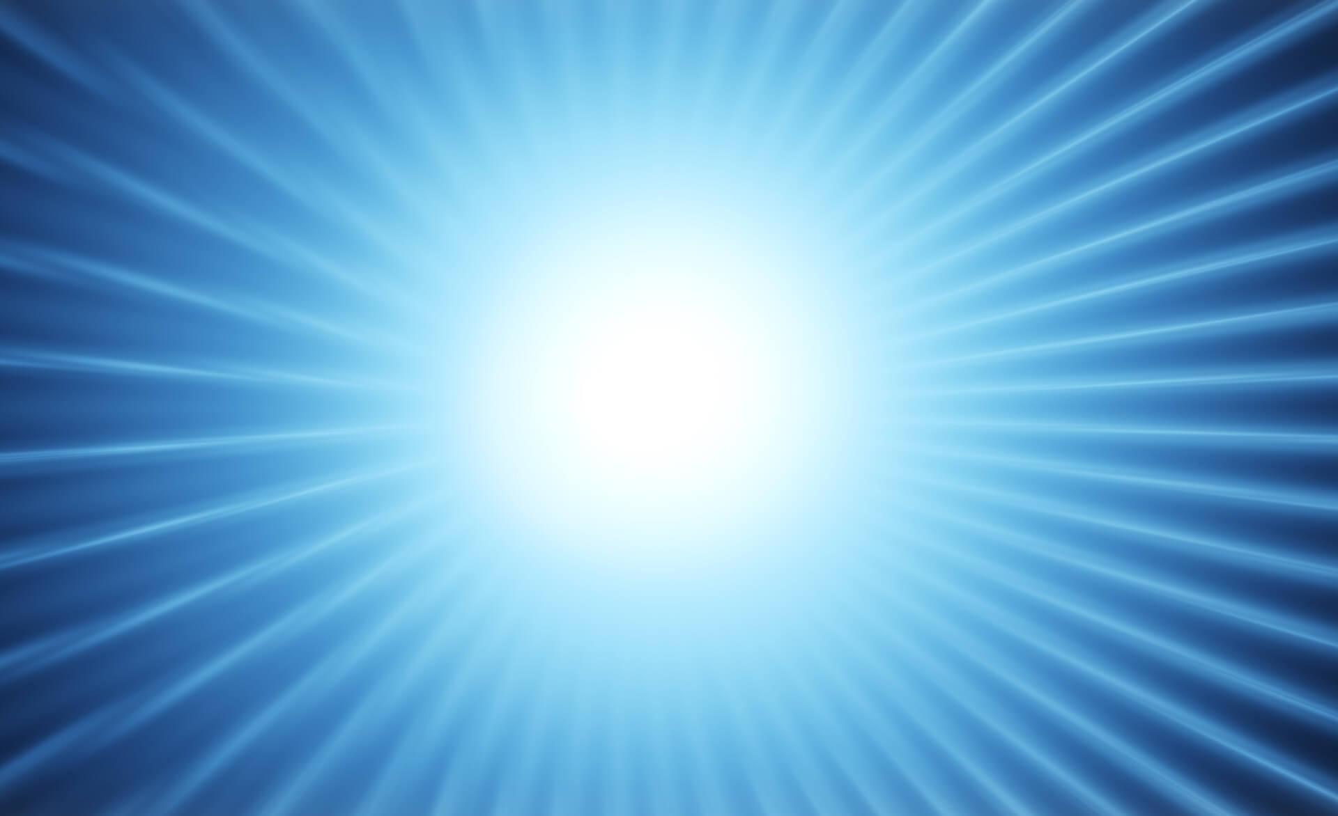 What does a blue aura mean spiritually?