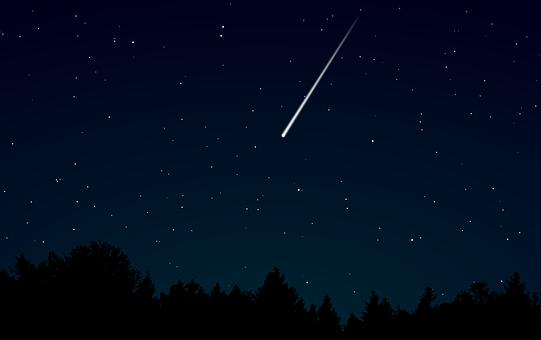 Seeing a Shooting Star/Falling Star Spiritual Meaning